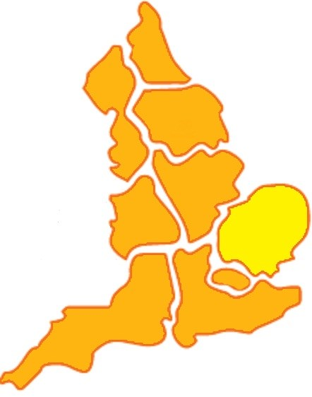 East of England government region