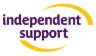 Independent Support logo