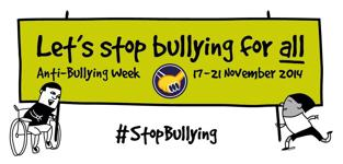 We're supporting Anti-Bullying Week 2014!