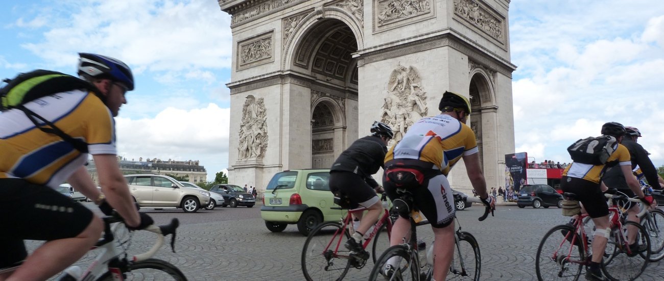 London 2 Paris bike ride 1