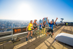 Broadgate Tower Run Up 2018