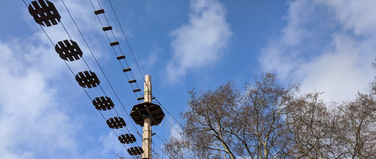 An extra special short break at Go Ape