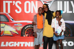KIDS families attend a Disney  special gala screening for Cars 3