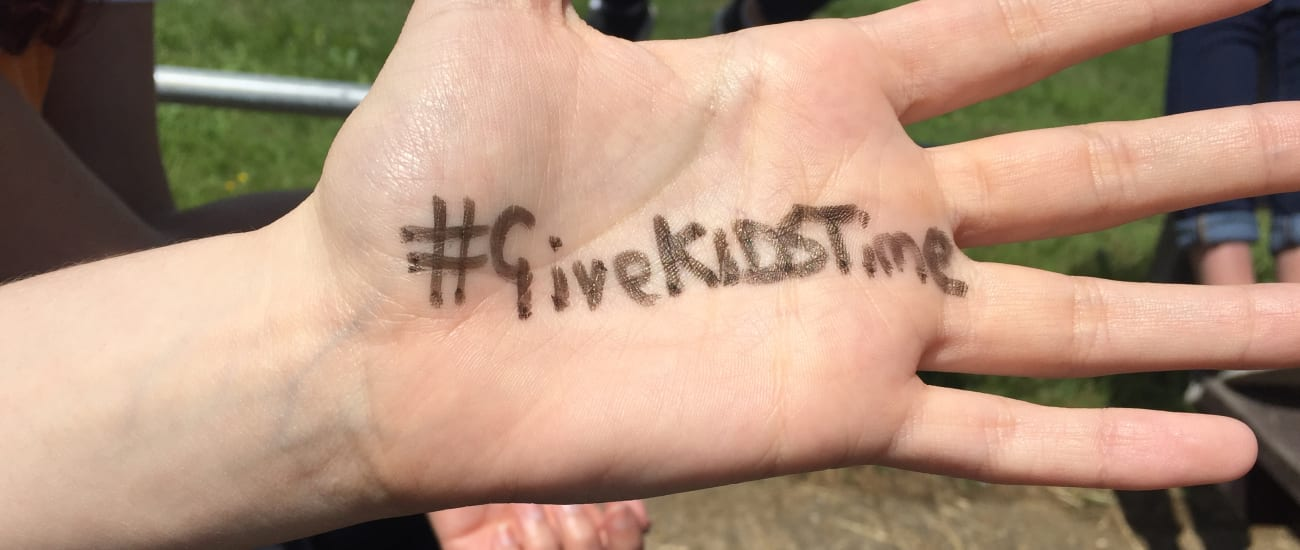 From supported to supporter: how I #GiveKIDSTime