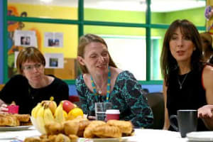 Samantha Cameron helps launch the Give KIDS Time campaign